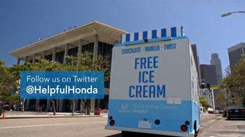 Honda Summerbration Sales Event TV Spot, 'Free Ice Cream: 2017 Civic LX' [T2] - Thumbnail 10
