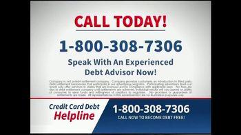 Credit Card Debt Helpline TV Spot, 'Reduce Your Debt' - Thumbnail 10
