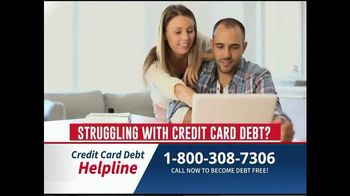 Credit Card Debt Helpline TV Spot, 'Reduce Your Debt'