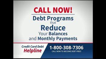 Credit Card Debt Helpline TV Spot, 'Reduce Your Debt' - Thumbnail 4