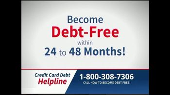 Credit Card Debt Helpline TV Spot, 'Reduce Your Debt' - Thumbnail 5