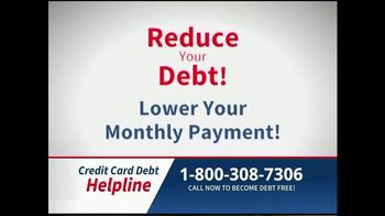 Credit Card Debt Helpline TV Spot, 'Reduce Your Debt' - Thumbnail 7