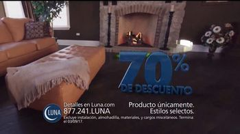 Luna Venta de 70 Por Ciento de Descuento TV Spot, 'Pisos' [Spanish] - Thumbnail 2