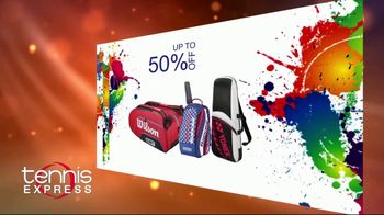 Tennis Express Sizzling Summer Sale TV Spot, 'Up to 70% Off' - Thumbnail 4