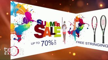 Tennis Express Sizzling Summer Sale TV Spot, 'Up to 70 Percent Off' - Thumbnail 1