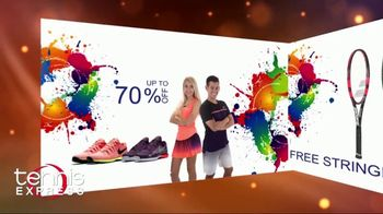 Tennis Express Sizzling Summer Sale TV Spot, 'Up to 70 Percent Off' - Thumbnail 2