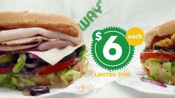 Subway $6 Footlong Subs TV Spot, 'Starburst' - Thumbnail 4