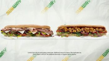 Subway $6 Footlong Subs TV Spot, 'Starburst' - Thumbnail 7
