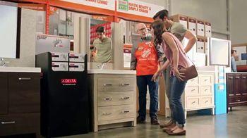 The Home Depot TV Spot, 'Discover Vanities'