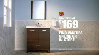The Home Depot TV Spot, 'Discover Vanities' - Thumbnail 9