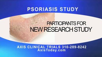 AXIS Clinical Trials TV Spot, 'Psoriasis Study' - Thumbnail 1