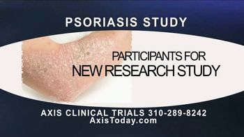 AXIS Clinical Trials TV Spot, 'Psoriasis Study' - Thumbnail 2