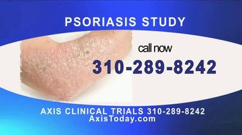 AXIS Clinical Trials TV Spot, 'Psoriasis Study' - Thumbnail 3