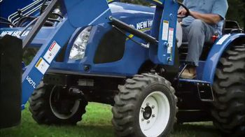 New Holland Red, White and Blue Summer Event TV Spot, 'Create Your World' - Thumbnail 4