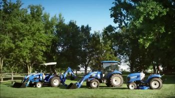New Holland Red, White and Blue Summer Event TV Spot, 'Create Your World' - Thumbnail 7