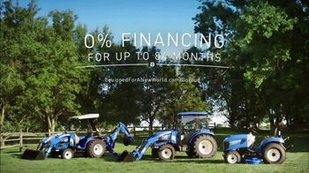 New Holland Red, White and Blue Summer Event TV Spot, 'Create Your World' - Thumbnail 8