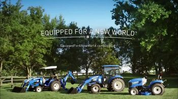New Holland Red, White and Blue Summer Event TV Spot, 'Create Your World' - Thumbnail 9