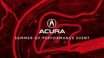 Acura Summer of Performance Event TV Spot, 'Summer Vacation: 2017 ILX' [T2] - Thumbnail 1