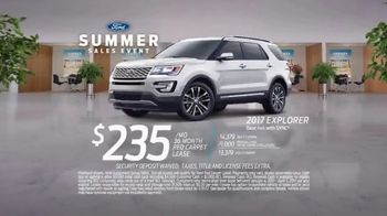 Ford Summer Sales Event TV Spot, 'Ice Cream' Song by Owl City [T2] - Thumbnail 9