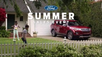 Ford Summer Sales Event TV Spot, 'Ice Cream' Song by Owl City [T2] - Thumbnail 1