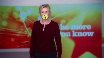 The More You Know TV Spot, 'Community' Featuring Jane Lynch - 15 commercial airings
