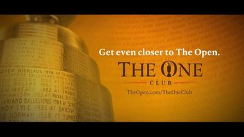 The Open The One Club TV Spot, 'Fans Hold the Claret Jug at The Open' - Thumbnail 10