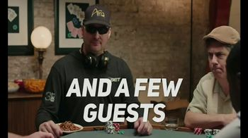 PokerGO TV Spot, 'Poker Nights' Featuring Phil Hellmuth, Chris Parnell