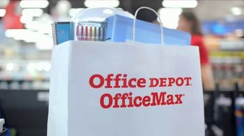 Office Depot OfficeMax TV Spot, 'Taking Care of Back to School: Notebooks' - Thumbnail 1