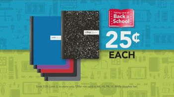 Office Depot OfficeMax TV Spot, 'Taking Care of Back to School: Notebooks'
