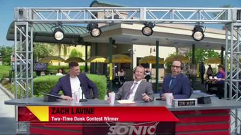 Sonic Dunked Chicken Sandwich TV Spot, 'Highlights' Ft. Zach Lavine - Thumbnail 2