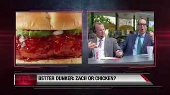 Sonic Dunked Chicken Sandwich TV Spot, 'Highlights' Ft. Zach Lavine - Thumbnail 5