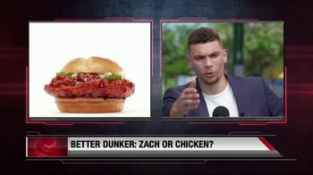 Sonic Dunked Chicken Sandwich TV Spot, 'Highlights' Ft. Zach Lavine - Thumbnail 6