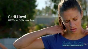 Hand & Stone TV Spot, 'De-Stress: Christmas in July' Featuring Carli Lloyd