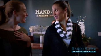 Hand & Stone TV Spot, 'De-Stress: Christmas in July' Featuring Carli Lloyd - Thumbnail 3