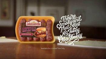 Johnsonville Chipotle & Monterey Jack Bratwurst TV Spot, 'Smoky No Jokey' - Thumbnail 5