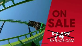 Six Flags Summer Sale TV Spot, 'Daily Admission' - Thumbnail 4