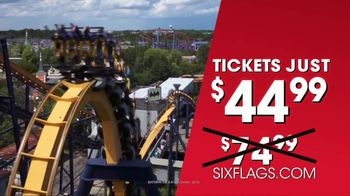 Six Flags Summer Sale TV Spot, 'Daily Admission' - Thumbnail 5