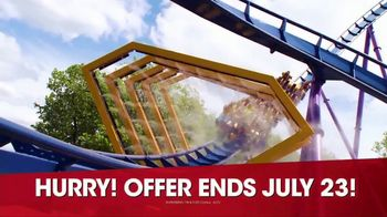 Six Flags Summer Sale TV Spot, 'Daily Admission' - Thumbnail 7