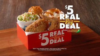 Church's Chicken Restaurants $5 Real Big Deal TV Spot, 'You Choose' - Thumbnail 7