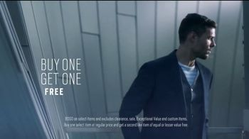 Men's Wearhouse Buy One Get One Free Sale TV Spot, 'Expert Stylists' - Thumbnail 3