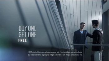 Men's Wearhouse Buy One Get One Free Sale TV Spot, 'Expert Stylists' - Thumbnail 4