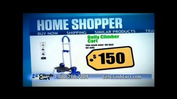 Climb Cart TV Spot, 'Climbs Stairs' - Thumbnail 8