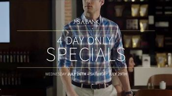 JoS. A. Bank TV Spot, 'Four Day Only Specials' - Thumbnail 2