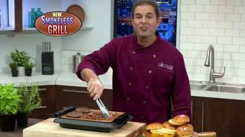 Gotham Steel Smokeless Grill TV Spot, 'Barbecue Indoors' - 108 commercial airings