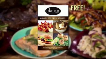 Gotham Steel Smokeless Grill TV Spot, 'Barbecue Indoors' - Thumbnail 7