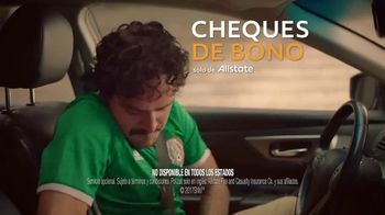 Allstate Safe Driving Bonus Checks TV Spot, 'Difícil de contener' [Spanish] - Thumbnail 8