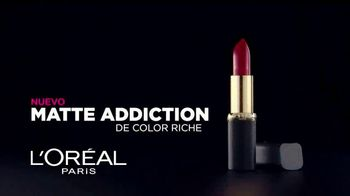 L'Oreal Paris Matte Addiction TV Spot, 'Lujo y confort' [Spanish] - Thumbnail 4
