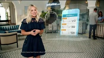 Priceline.com TV Spot, 'Doggie Cam' Featuring Kaley Cuoco - Thumbnail 1