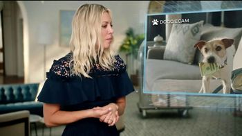 Priceline.com TV Spot, \'Doggie Cam\' Featuring Kaley Cuoco