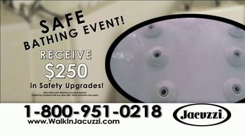 Jacuzzi Safe Bathing Event TV Spot, 'Safe and Relaxing' - Thumbnail 3